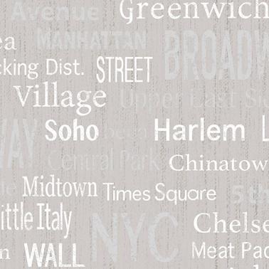 Duka Duvar Kağıdı Freedom Broadway DK.14233-2 (16,2 m2) Renkli